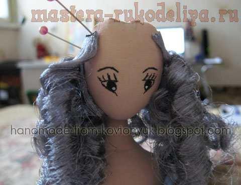 Мастер-класс по шитью игрушек: Интерьерная кукла–тряпиенс Селеста