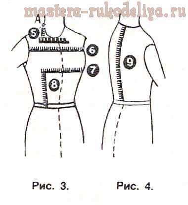 Как правильно снять мерки для шитья одежды