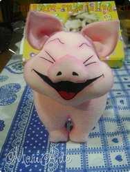Мастер-класс по шитью игрушек: Хрюшка-хохотушка