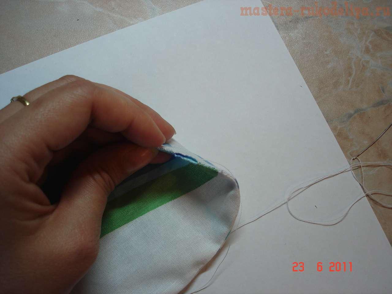 Мастер-класс по шитью: Ключница Котик