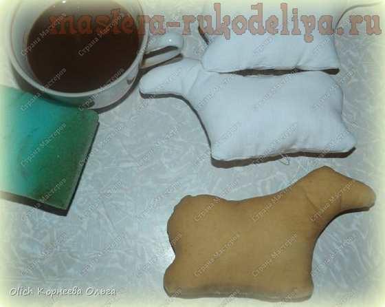 Мастер-класс по шитью игрушек: Кофейные пряники; Бараны.