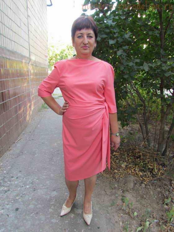 Мастер-класс по шитью: Коралловое платье