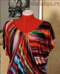 Мастер-класс по шитью: Блузка с рукавом-бабочкой