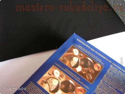 Мастер-класс по скрапбукингу: Упаковка для подарка с использованием бархатной пудры