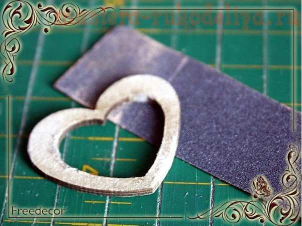 Мастер-класс: Блокнот в винтажном стиле
