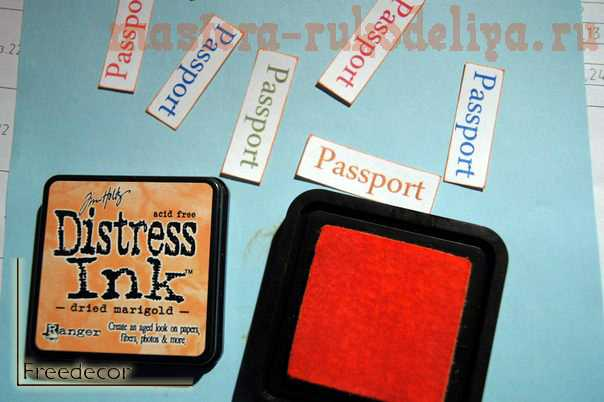 Мастер-класс: Серия обложек для паспорта; Французские кошечки.