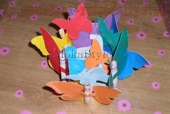 Мастер-класс: Бабочки из бумаги