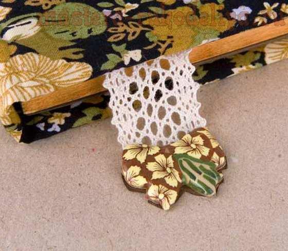 Мастер-класс по скрапбукингу: Блокнот с деталями из полимерной глины