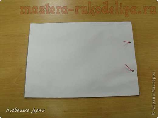 Мастер-класс по скрапбукингу: Блокнот с поздравлением