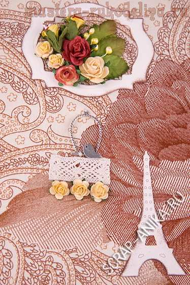 Мастер-класс по скрапбукингу: Блокноты с розами