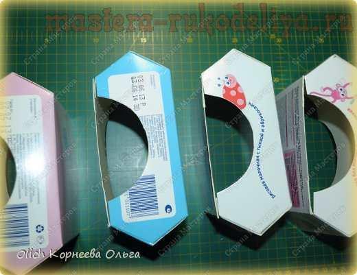 Мастер-класс по картонажу: Чайный домик из коробок от детского питания
