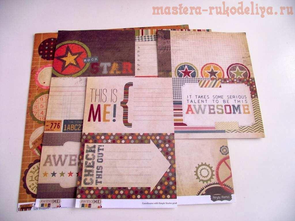 Мастер-класс по скрапбукингу: Чековая книжка желаний