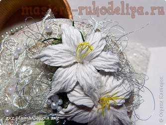 Мастер-класс по скрапбукингу: Цветы лилии из бумаги