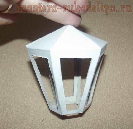 Мастер-класс по скрапбукингу: Декоративный фонарик
