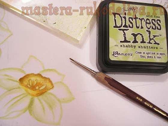 Мастер-класс по скрапбукингу: Как я рисую фон для страницы