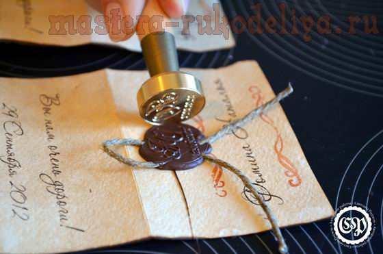 Мастер-класс: Карточки с именами гостей на свадебный стол