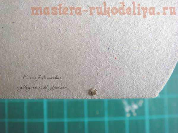 Мастер-класс по картонажу: Комодик
