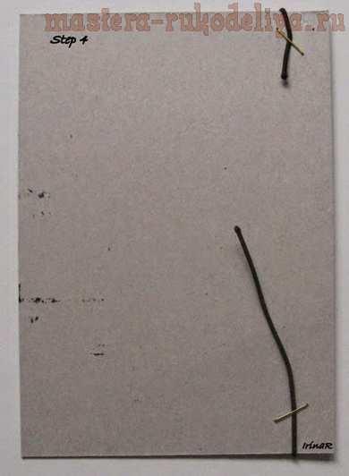 Мастер-класс по скрапбукингу: Блокнот - Steаmpunk-текстурная обложка