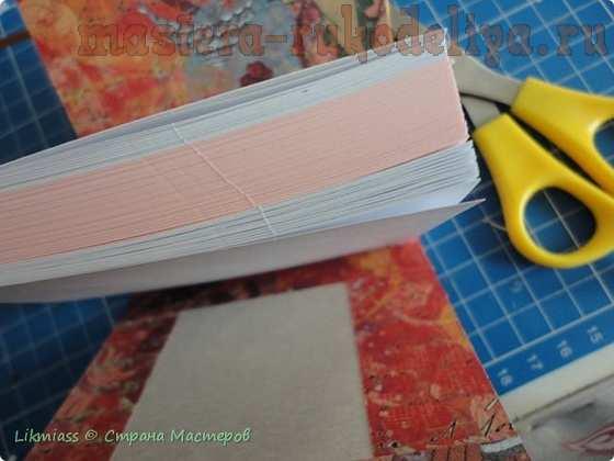 Мастер-класс по скрапбукингу: Как закрепить блоки бумаги в обложку