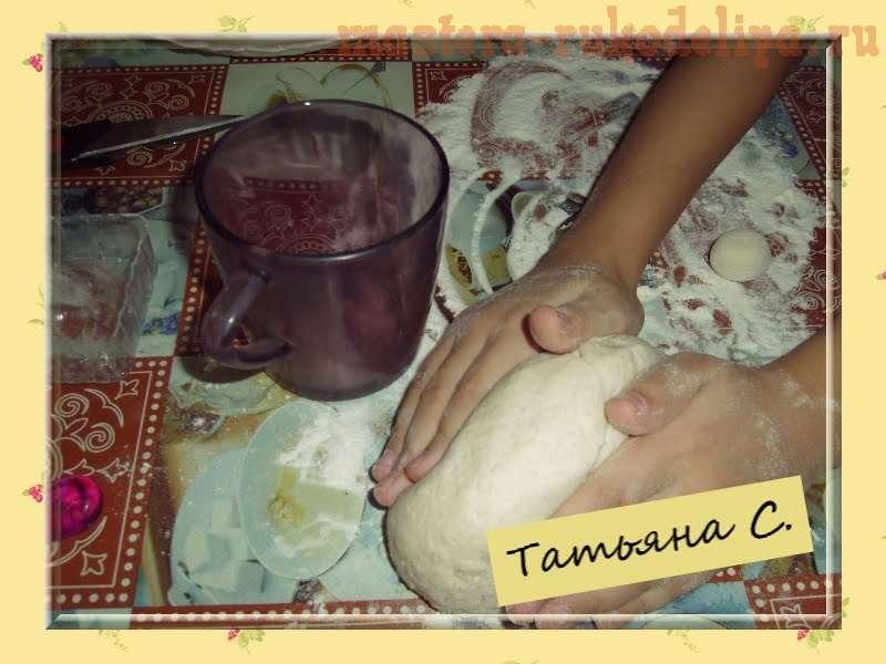 Мастер-класс по лепке из соленого теста: Грибочки