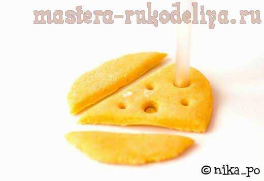 Мастер-класс по лепке: Игрушечная еда из солёного теста