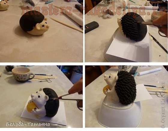 Мастер-класс по лепке из соленого теста: Ёжики