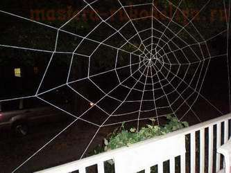 Мастер-класс: Как сплести паутину