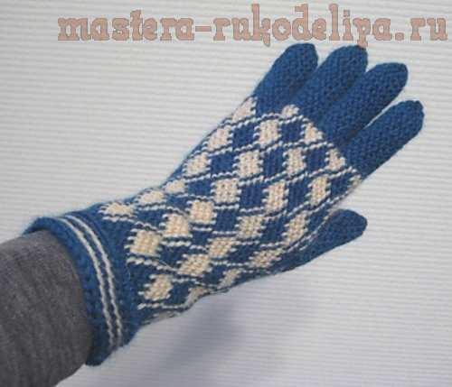 Мастер-класс по вязанию: Боснийское вязание