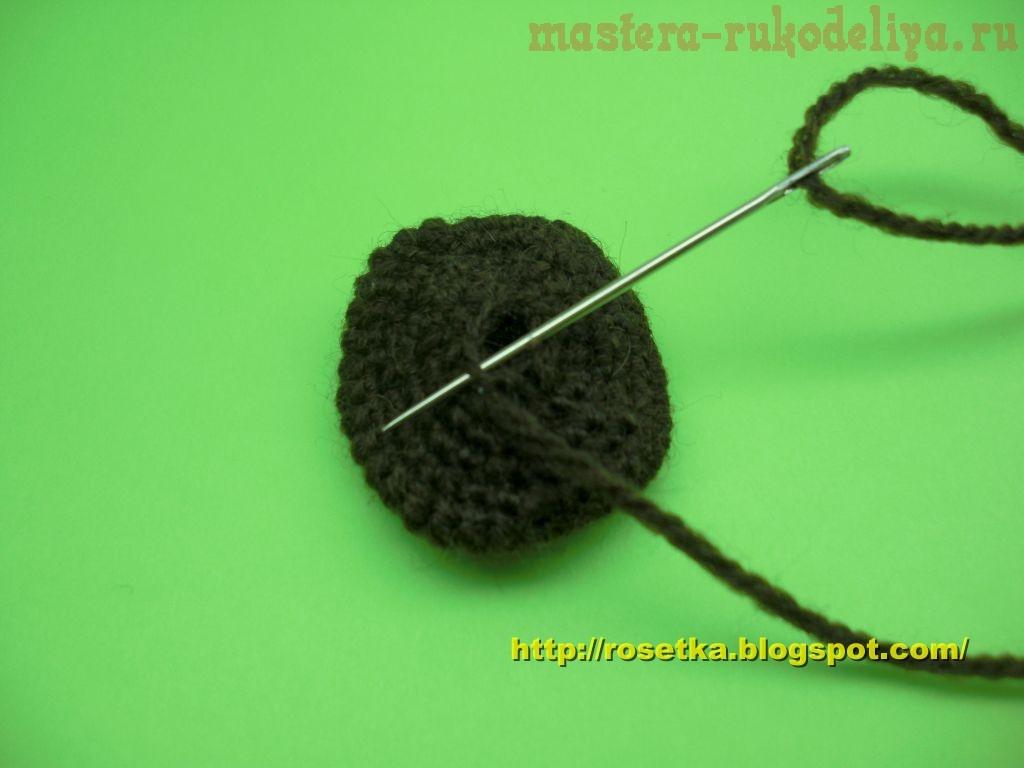 Мастер-класс по вязанию крючком: Чебурашка