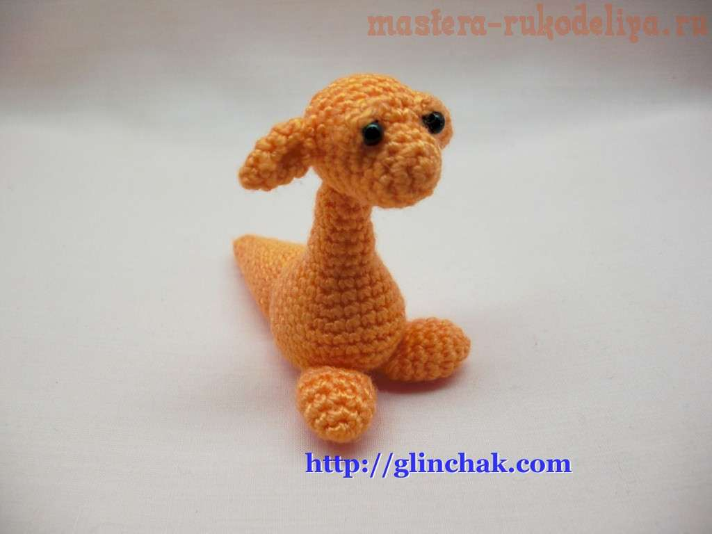Мастер-класс по вязанию амигуруми: Детеныш дракона