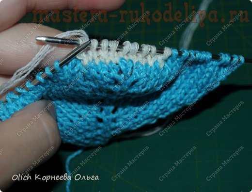 Мастер-класс по вязанию спицами: Домашние тапочки