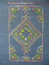 Схема для вышивки: Чехол для очков