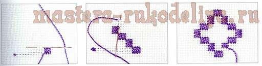 Хардангер: Закладка с мальтийскими крестами