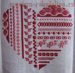 Схема для вышивки: Heart mystery - шовчиковая мистерия