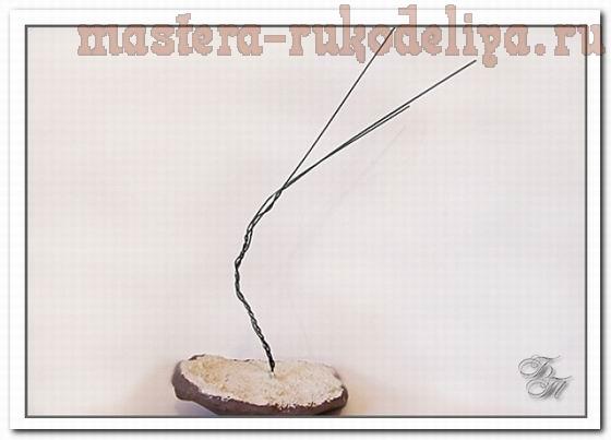 Мастер-класс по керамической флористике: Бонсай глициния