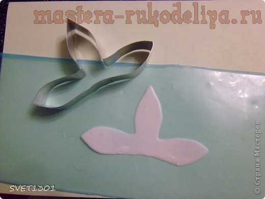 Мастер-класс по лепке из холодного фарфора: Орхидея дендробиум