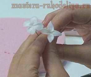 Мастер-класс по основам керамической флористики: Два простых цветка