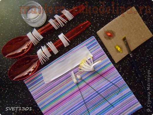 Мастер-класс по лепке из холодного фарфора: Клематисы