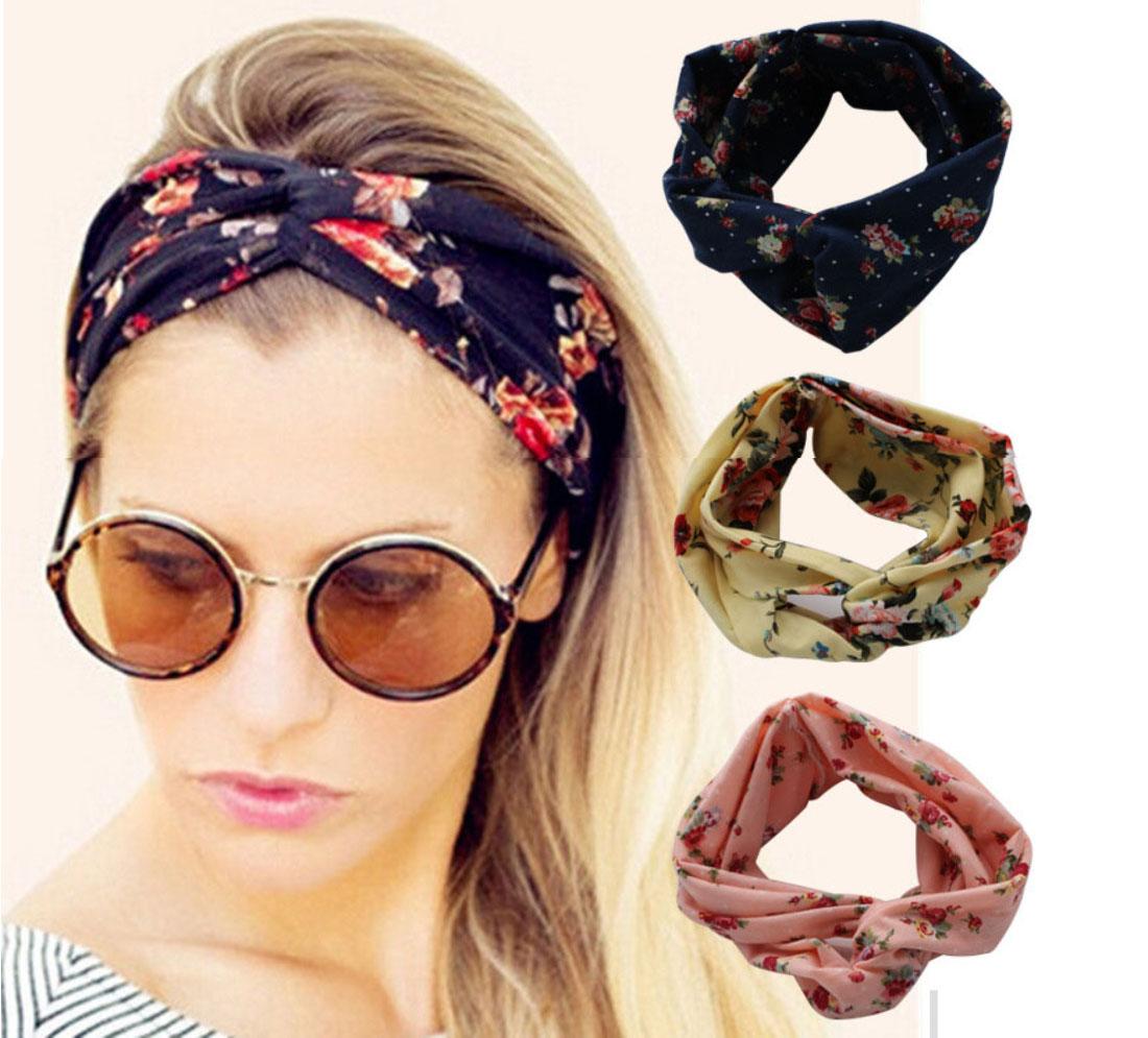10 вариантов летних повязок на голову