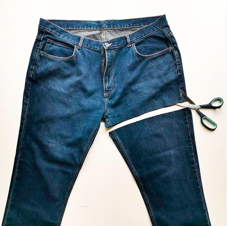 Фартук из старых джинсов (фото и описание)