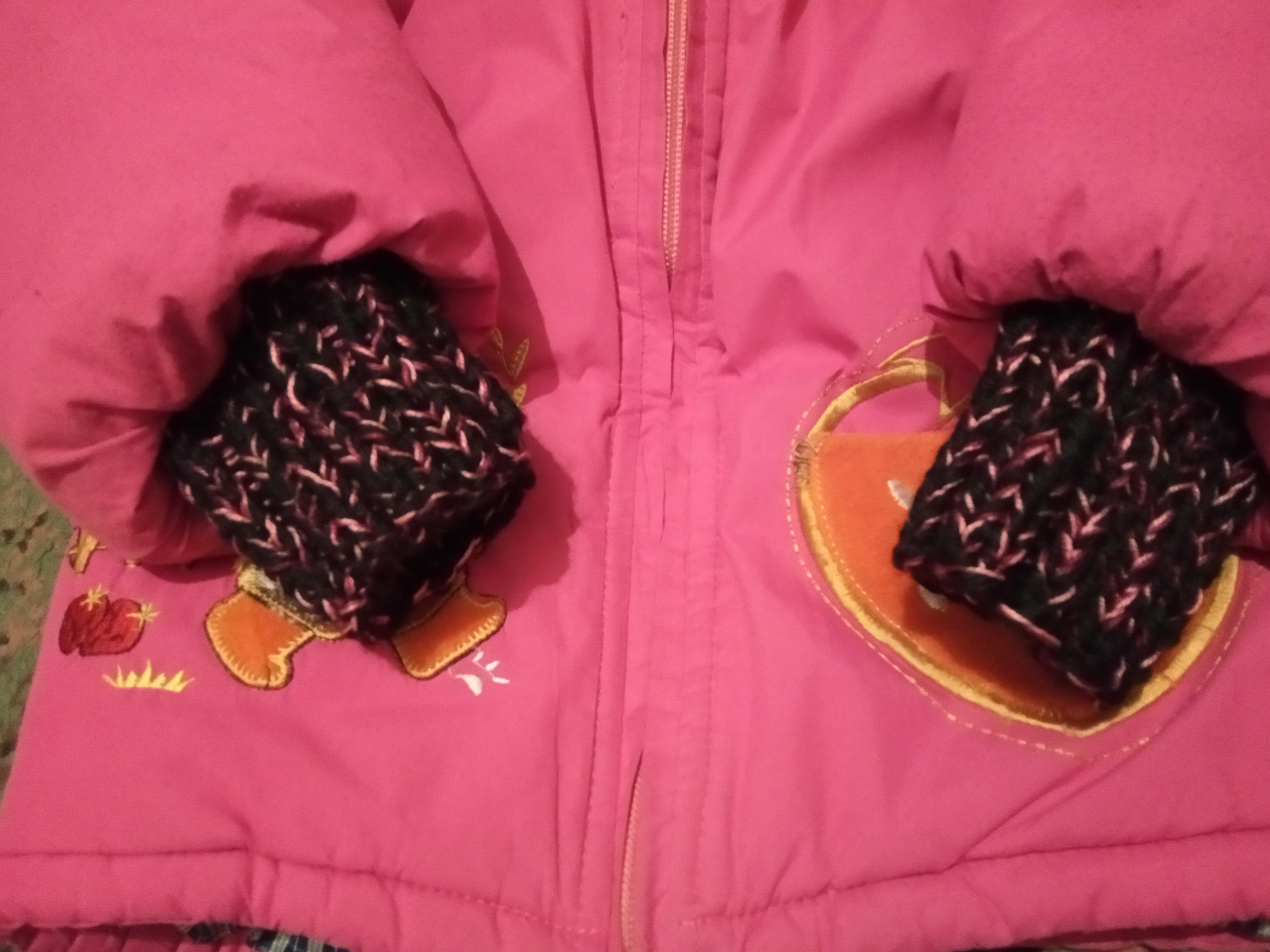 Как удлинить рукава на детской куртке