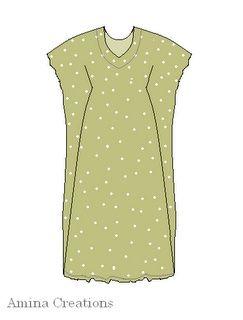 6 идей платьев из одной выкройки