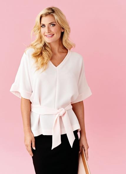 Блузка своими руками из крепа