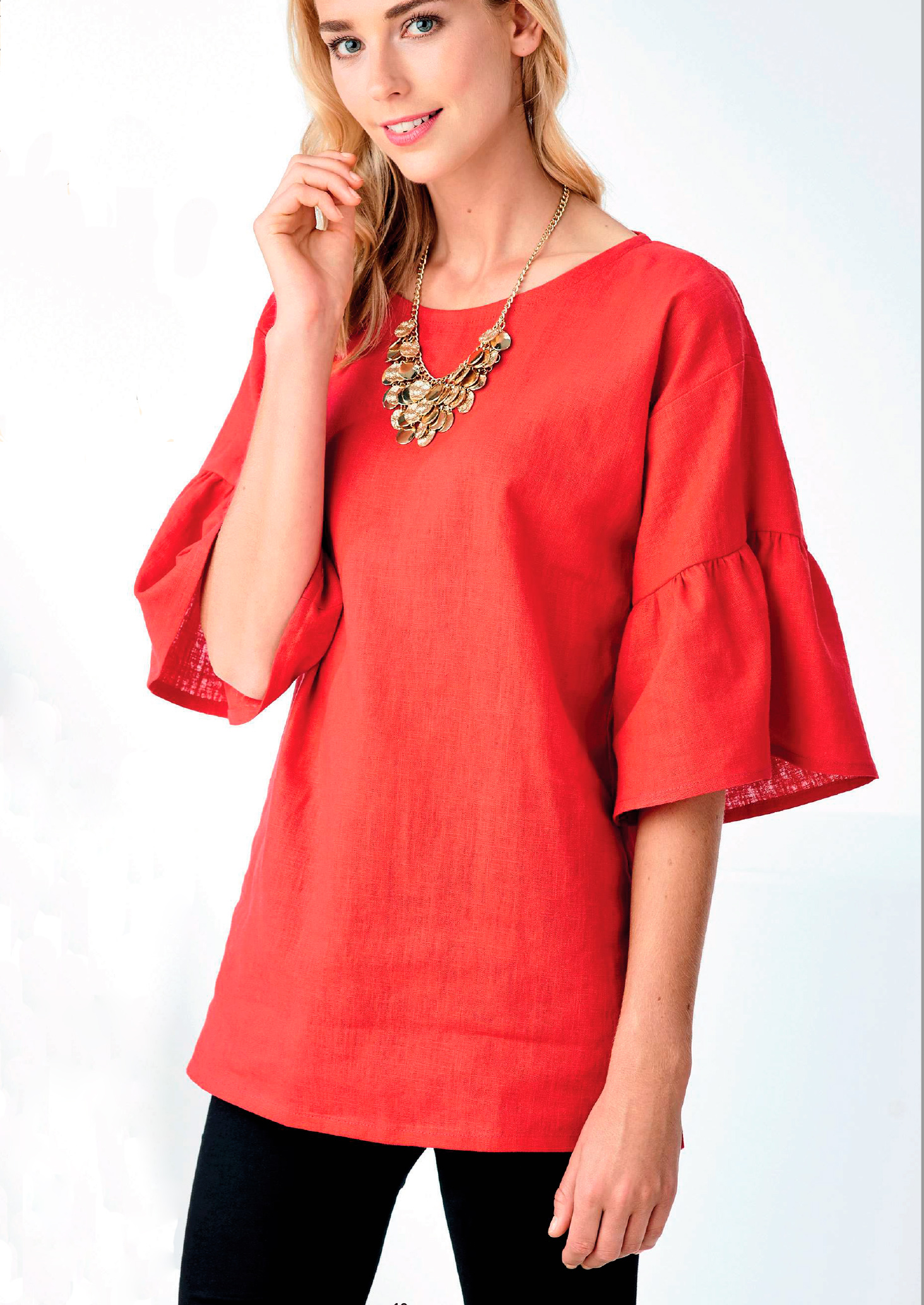 Арабэлла; блузка своими руками из 1 метра ткани