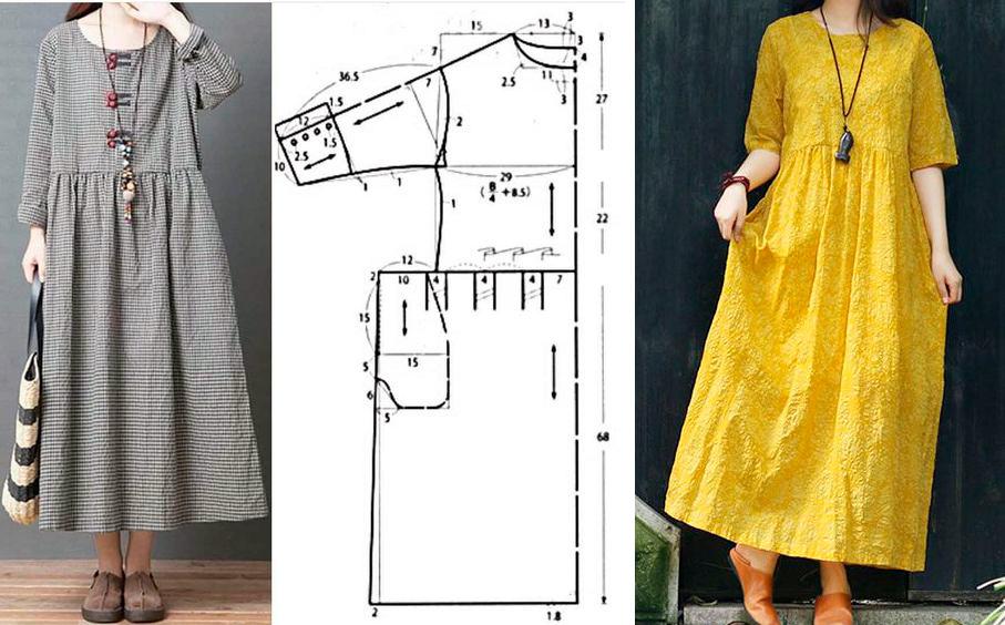 Топ-10 зимних платьев бохо. Модные фасоны для дам