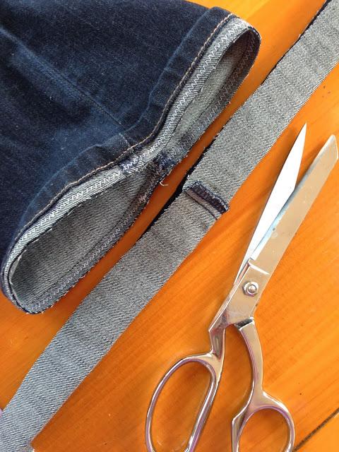Как подшить джинсы с сохранением шва