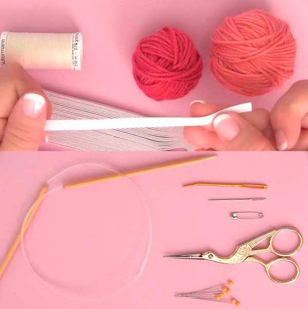 Материалы для создания резинки для волос
