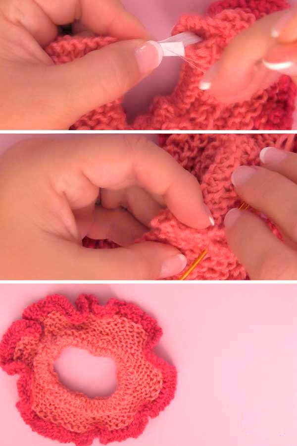 Как сделать резинку для волос своими руками