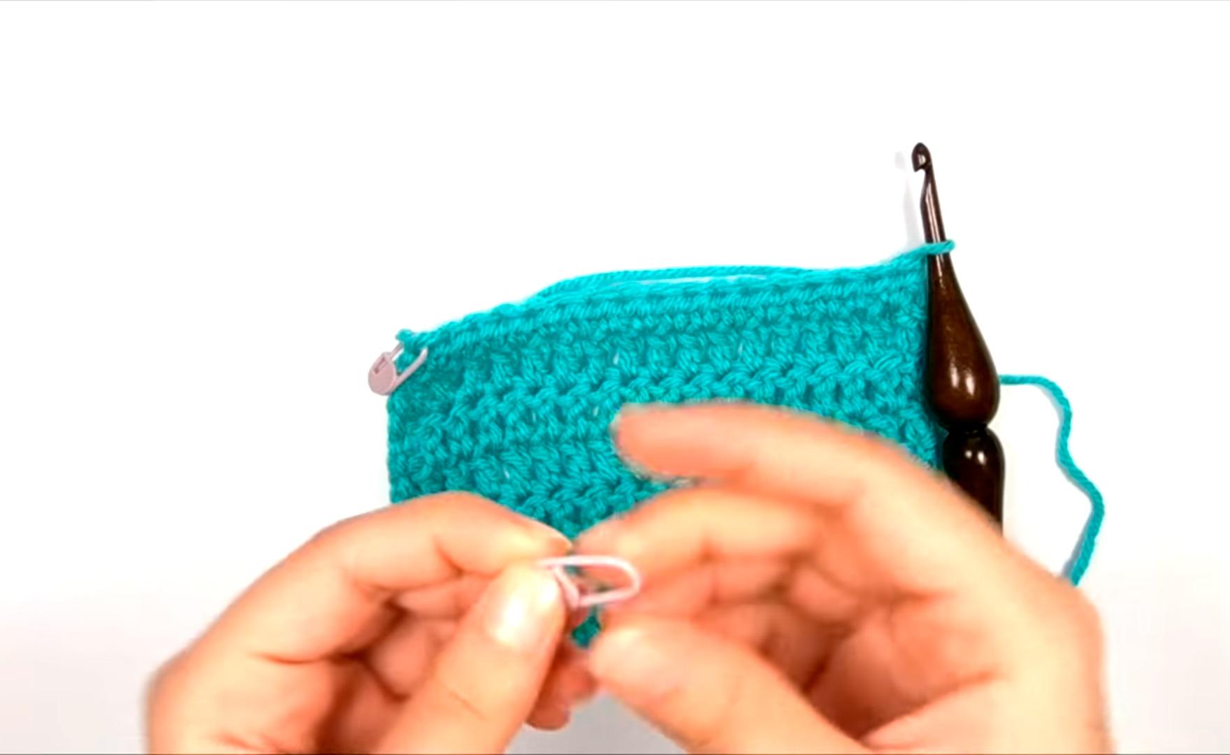Как сделать ровный край при вязании крючком