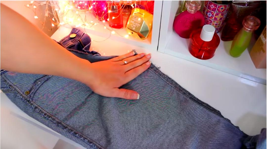 Как легко поднять талию на джинсах с заниженной талией